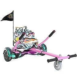 ✅Les hoverboards deviennent un kart en quelques secondes - Installation facile, outils complets. Le Hoverkart offre à l'utilisateur beaucoup plus de contrôle et moins de risques de blessures pour permettre aux enfants de profiter de l'expérience ulti...