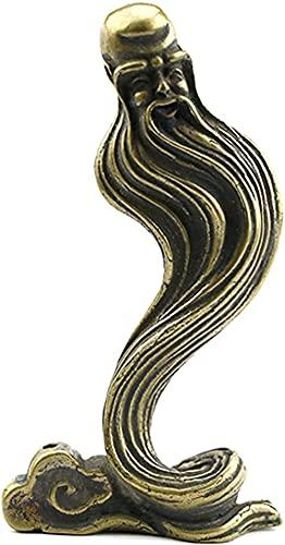 Escultura Figuritas Decorativas Estatuas Estatuas De Dios Feng Shui Para Decoración Del Hogar, Estatuilla DeLatón, Esculturas Abstractas De Shou,Decoración De Coche DeOficina EnCasaPara