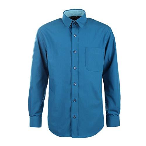G.O.L. - Jungen Festliches Hemd Langarm, dunkelpetrol - 5511900, Größe 140