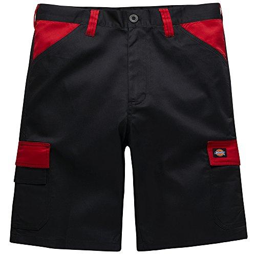 "Dickies Dickies ED24/7SH ""Everyday"" Shorts, Schwarz/Rot, 62 DE"