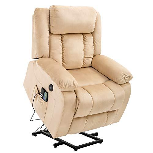 Mecor Lift Recliner Chair Power Lift Chair for Elderly with Adjustable Headrest Massage Recliner...