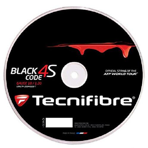 Tecnifibre Black Code 4S 1.30 Calibre 1.30/200m