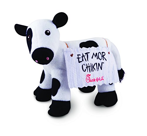 Chick Fil A Eat Mor Chikin Plush 6 Inches Long