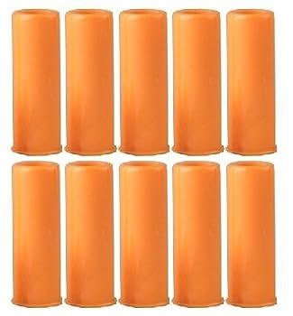 Tactical Deals Pack Of 10 Inert 12 GA Gauge Safety Trainer Cartridge Dummy Ammunition Ammo Shotgun Shell Rounds