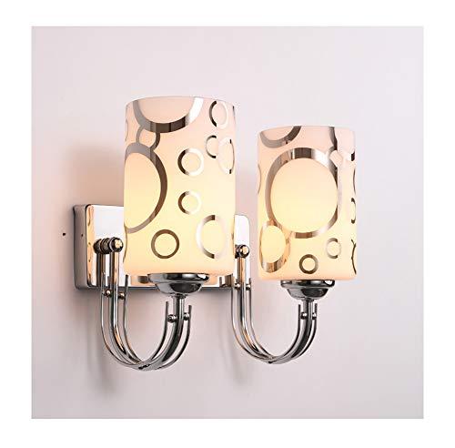 Slaapkamer Dubbele Kop Wandlamp, Gemakkelijk Trap Balkon Creatief Led Wandlamp 12W