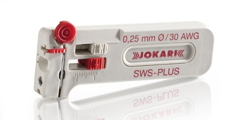 Jokari 40055 SWS-Plus Mini-Precision Stripping Tool for Cable Stripping, 30 AWG (0.25mm)
