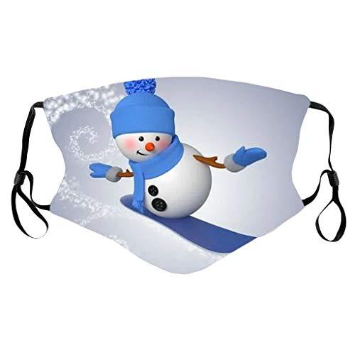 Lialbert - Protector bucal para adultos multifunción 3D con impresión de animal, máscara de algodón transpirable, lavable, diseño de animales, bandana para el cuello, para hombre y mujer B3. 1 Pieza