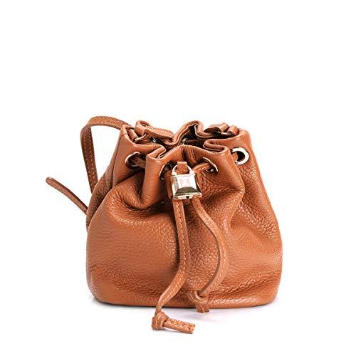 Patrizia Pepe Lock Fly Mini Bag Borsa tote Pelle 15 cm