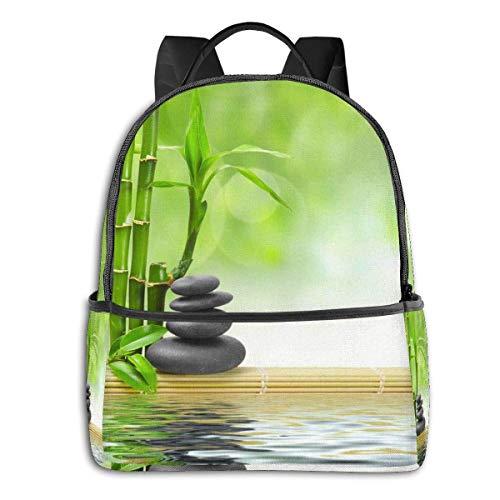 Forest Water - Mochilas para niños, mochila escolar, linda bolsa para portátil, para hombre, casual, al aire libre, mochila de viaje para niños y adultos