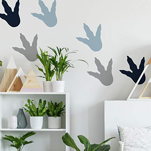 RoomMates Dino Feet Peel And Stick Wall Decals