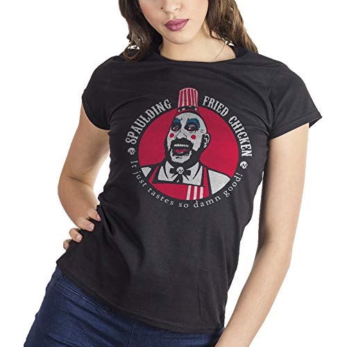 MUSH Eighteen Clothing Funny T-Shirt M Donna Rob Zombie Captain Spaulding Movie