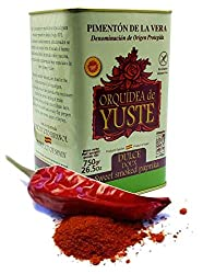 Pimenton Smoked Paprika is a paprika from spain, very red in color.