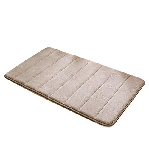 Review CarPet Thick Floor mat Bathroom Bathroom Absorbent Non-Slip mat