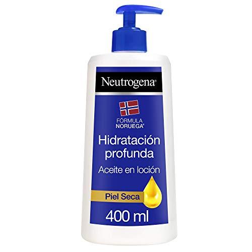 Neutrogena Aceite en Loción Hidratación Profunda, Piel Seca, 400 ml