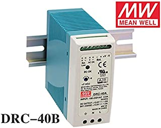 MEAN WELL DRC-40B 40W 24~30V AC/DC meanwell din rail security Power Supply with Battery charger(UPS function) DRC-40