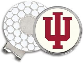 Indiana University Block IU Golf Ball Hat Clip. IUHC9022F IMC-Retail