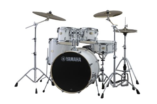 Yamaha Stage Custom Birch 5pc Drum Shell Pack - 22' Kick, Pure White