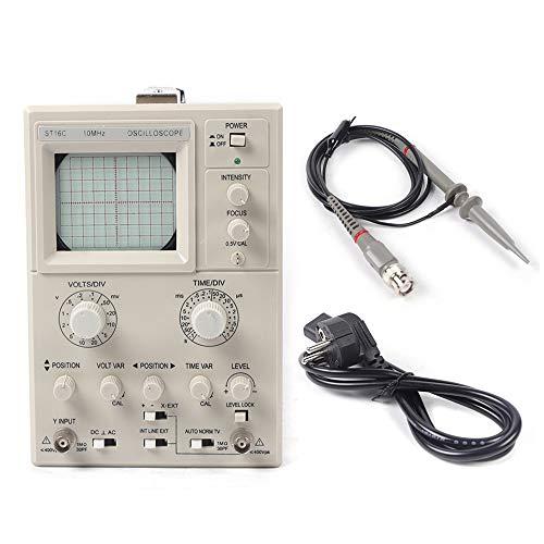 Osciloscopio 0~10 MHz, Osciloscopio Digital Portatil 220 V