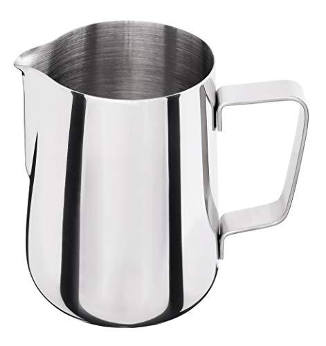 Luxpresso Milchkännchen/Messkanne/Messbecher aus Edelstahl, 550 ml