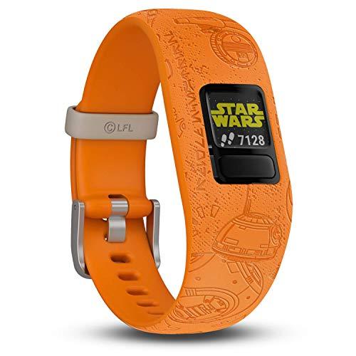 Garmin vívofit jr. 2 digitale, wasserdichte Action Watch im Star Wars – Die helle Seite Design für Kinder ab 4 Jahren, mit spannender Abenteuer-App, Schrittzähler, Batterielaufzeit bis zu 1 Jahr