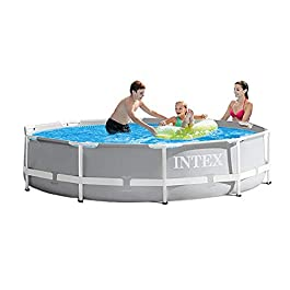 Intex 10ft X 30in Prism Frame Pool Set with Filter Pump
