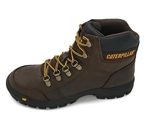 Caterpillar Men's Outline Work Boot, Seal Brown, 10 M US