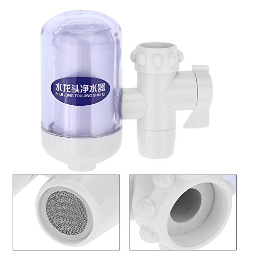 Zouminy Kraan Water Filter, Thuis Keuken Zuiveren Apparaat Kraan Tap Water Filter Purifier met Keramische Cartridge Kraan Mount Water Filters