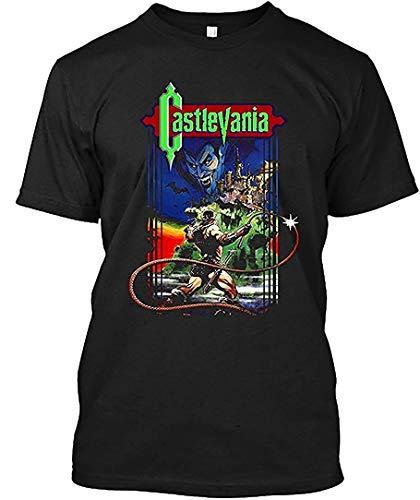 Castlevania 4 Shirt,Black,4X-L