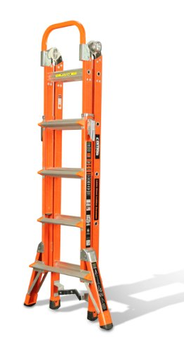 Little Giant Ladder Systems 15296-001 375-Pound Duty Rating Combo SXE Ladder