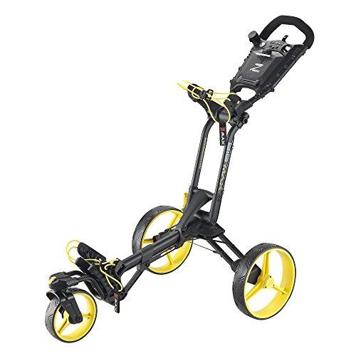 Big Max Z-360 Golf Trolley, Unisex - Erwachsene, Bigmax Z-360, Nero/Giallo