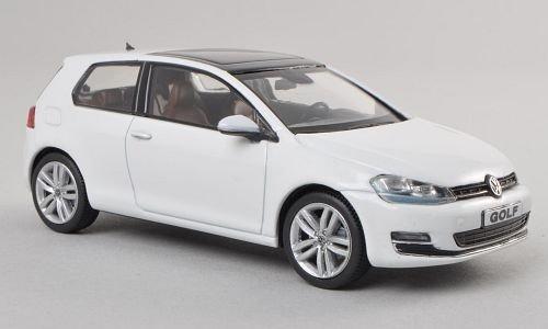 VW Golf VII, weiss, 0, Modellauto, Fertigmodell, Herpa 1:43