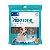 Virbac CET Veggiedent FR3SH Tartar Control Chews for Dogs, Small