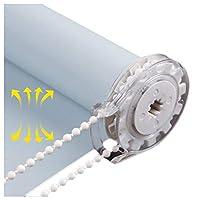 RZEMIN ロールスクリーンハニカムシェードロール カーテンウィンドウ 断熱、 UVプロテクション99%ブラックアウトローラーシェード、 掘削 パンチフリー、 カスタムサイズ (Color : Blue-A, Size : 45cmX150cm)