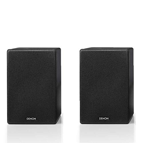 Denon SC-N10 Bookshelf Speakers | 2 x 65W | Award-Winning CEOL Series | Bass Reflex Port | Perfect for Smaller Rooms and Houses | Compatible with a Wide Range of Amplifiers and Receivers | Pair
