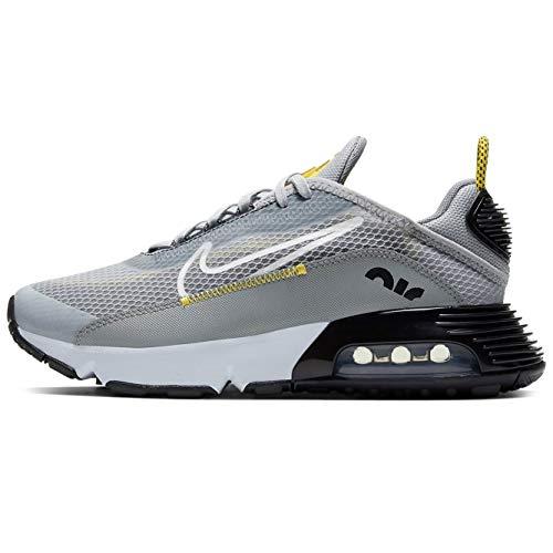 Nike Air Max 2090 (gs) Zapatos casuales para correr para niños grandes Cj4066-002, gris (Gris lobo/Gris partícula blanca), 37 EU