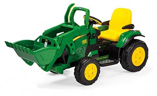 Peg Perego excavadora 12V IGOR0068 Vehículo Eléctrico Infantil