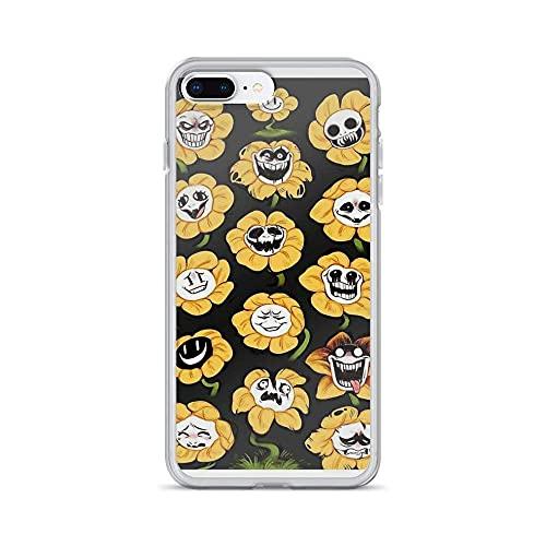 Phone Case Undertale Flowey Compatible with iPhone 12/12 Pro Max Mini 11 Pro max XR SE 2020/7/8 X/Xs 6/6S Plus Samsung S21 S21+ Ultra