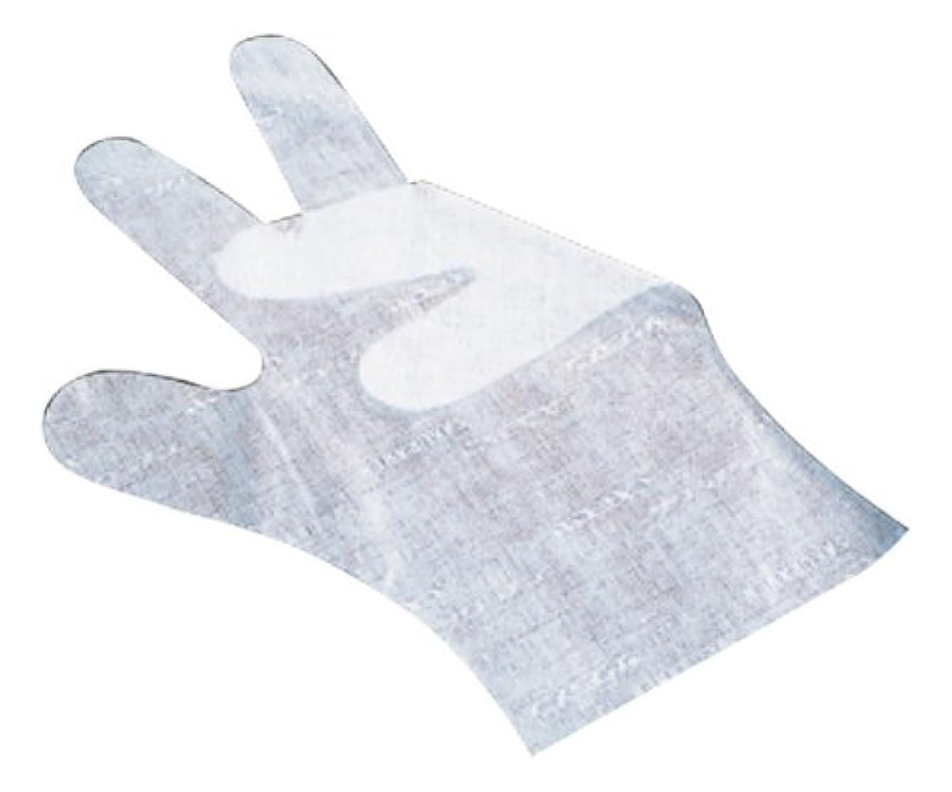 自然後ろに上昇サクラメン手袋 デラックス(100枚入)L ホワイト 35μ