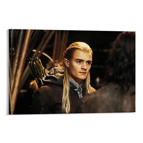DRAGON VINES The Herr der Ringe Zwei Türme Legolas Poster und Drucke auf Leinwand, dekorieren Sie die Wand zu Hause, 20 x 30 cm