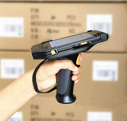 """Upgraded 4G LTE Android Barcode Scanner Pistol Grip Handheld Mobile Computer 5"""" Touch Screen with Honeywell N6603 1D 2D Code Reader NFC GPS WiFi for Enterprise WMS barcode handheld scanner"""