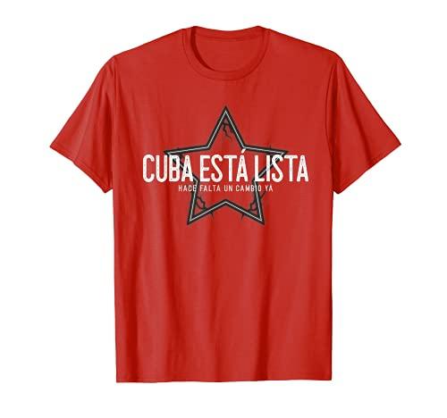 Viva Cuba Libre Abajo la Dictadura Patria y Vida y Libertad Tシャツ