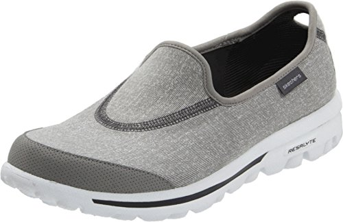 Skechers Damen Go Walk Slipper, Grau (GRY), 36 EU