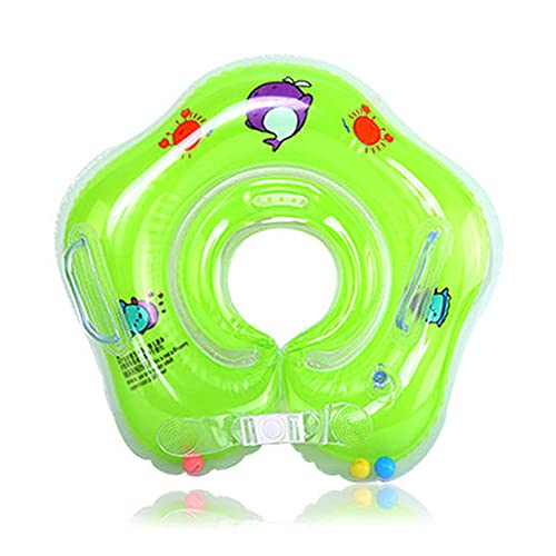 Schwimmen Baby Float Neugeborene PVC Cartoon Halsring Sicherheit Infant Float Badekreis für Schwimmbad Badewanne
