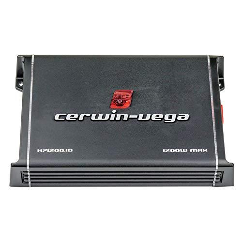 Cerwin-Vega H71200.1D 1200W Max / 600W RMS Class D 1 ohm Stable Monoblock Amplifier