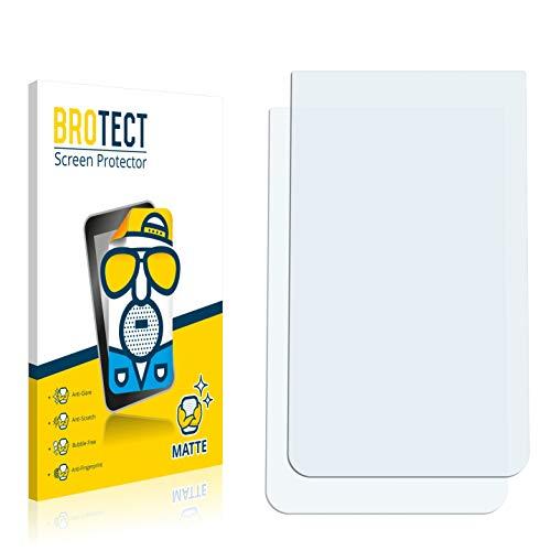 Preisvergleich Produktbild 2X BROTECT Matt Displayschutz Schutzfolie für DeLonghi Dinamica Plus ECAM 370.95.S (matt - entspiegelt,  Kratzfest,  schmutzabweisend)