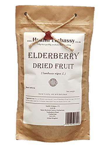 Saúco Negro Fruta (Sambucus nigra) / Elderberry Dried Fruit...
