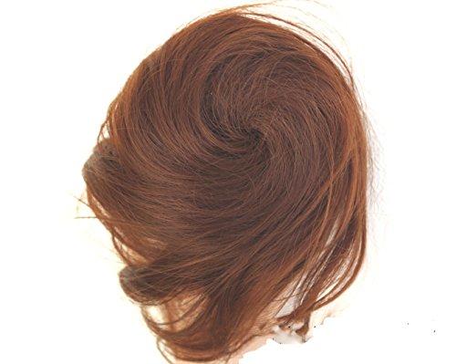 JM-Fashion-Supply Postiche chignon style Audrey Hepburn Différentes couleurs au choix - - rötigbraun 30/33,