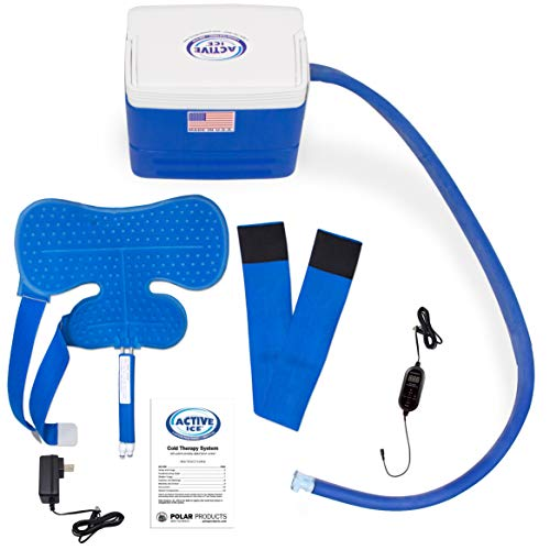 Polar Active Ice 3.0 Cold Therapy Ice Machine System with Programmable...
