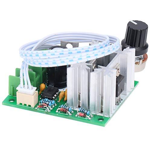 Módulo controlador de velocidad ancha, regulador de voltaje del regulador del 5%‑100% 20A DC6V‑30V con plástico y aleación de aluminio