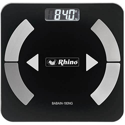 Balança de Bioimpedância digital Rhino BABAIN-180 NG SMART com bluetooth.